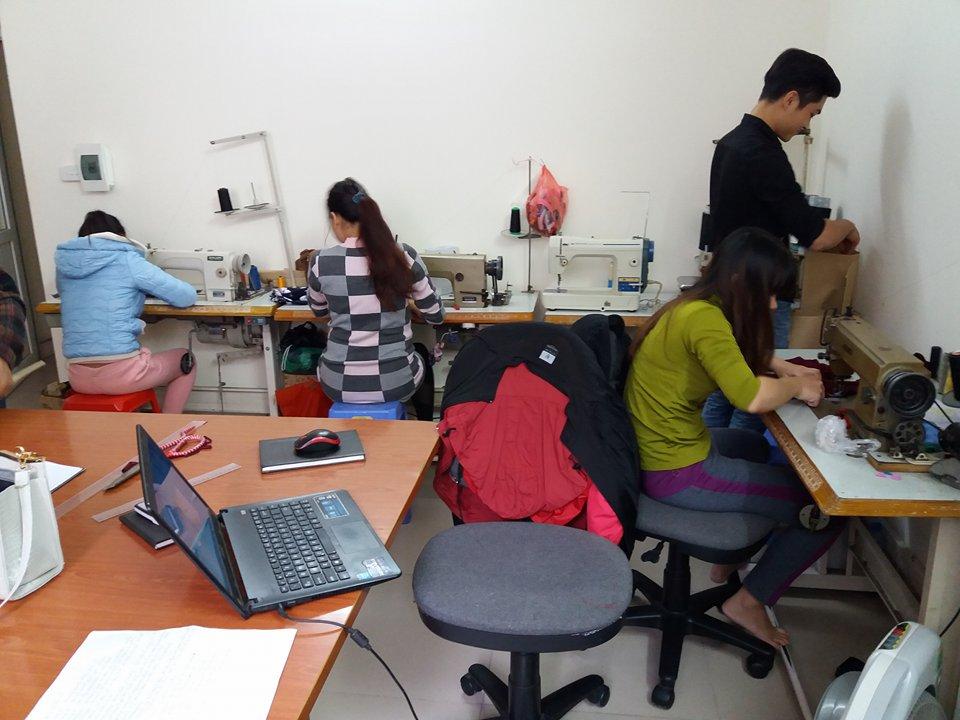Dạy cắt may cơ bản uy tín ở Hà Nội