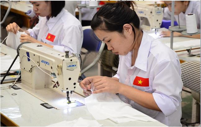 Học may để xuất khẩu lao động