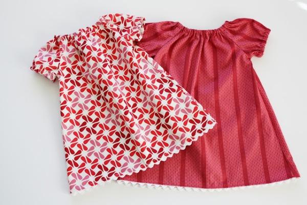 Cách may áo váy cực đơn giản lại cực dễ thương cho bé gái