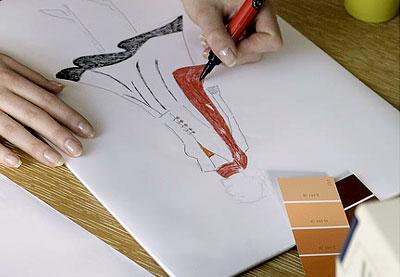 lớp vẽ thời trang cơ bản tại hà nội