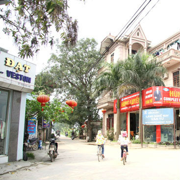 Làng nghề may veston