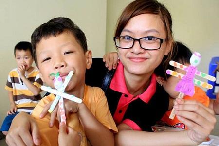 Nhân thêm nụ cười cho trẻ thiệt thòi