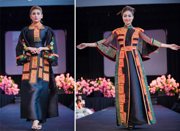 Trang phục Việt để lại nhiều dấu ấn tại Mỹ