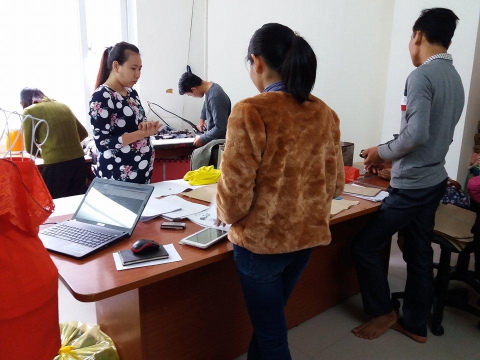 Trung tâm dạy may quần áo