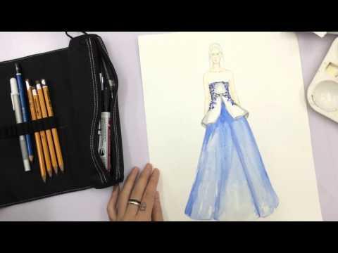 Khóa học vẽ diễn họa thời trang