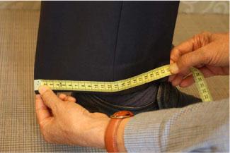 Hướng dẫn cách lấy số đo aó vest và quần âu nam