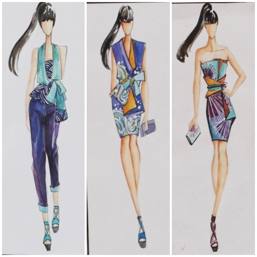 Khóa học dạy vẽ thời trang