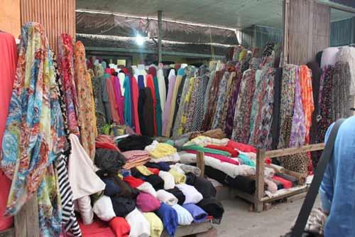 Mẹo đi chợ vải ở Hà Nội